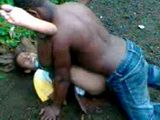 African Native Woman Fucked In Jungle Amateur Mobile Phone Video