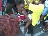 African Booty Dance On The Street