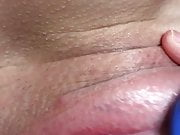Close up clit toy