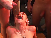 wild german bukkake swinger party