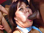 Mature British amateurs love the cock