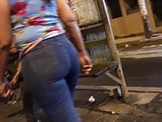OMG.. BIG ASS IN JEANS BLUE - PART 3