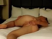 Dirty Blonde Wife Does A Nude Dance