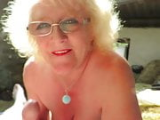 Claire Knight Gives Stableboy BJ in Hay Barn - Big Facial!