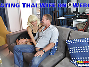 Cheating Thai Wife on Webcam, Cuckold (New Feb 1, 2019)