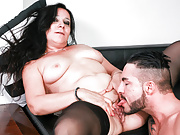 LETSDOEIT - Hot Italian Cougar Seduces Younger Stud