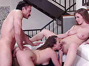 TOUGHLOVEX Lena Paul and Lily Love meet the doctor