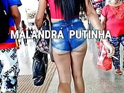 #Bunda Trickster Whore MALANDRA PUTINHA