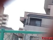 Japanese women spied on while pissing uncontrollably