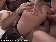 RoccoSiffredi Hot Italians Airtight DP Gangbang With Facial