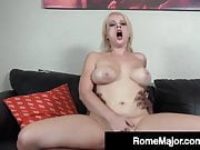 Black Cock Rome Major Wrecks Cracker Pussy Nadia White!