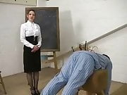 Caned in pyjamas