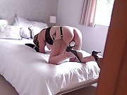 I caught my mature aunt masturbating with a vibrator