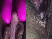 extreme clit massage (wet, closeup) 3