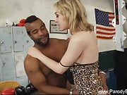 Parody Blonde Rides BBC Interracial