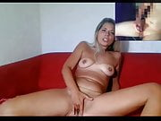 cam2cam masturbation with super hot webcam girl