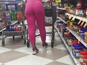 booty in pink joggers