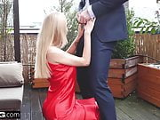 Glamkore - Petite european babe gets wet for a big dick