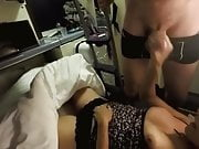 Horny Chick Gets Fucked In Train Cabin by a Stranger