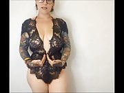 sexy lingerie try on