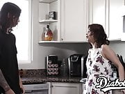Dazzling Penelope Reed seduced with stepbro cock