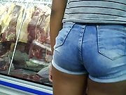 novinha de shortinho atolado dlc teen hot shorts in pussy