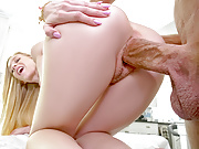 TINY4K Big dick PUNISHES tight hairy pussy